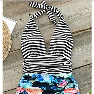 Adorable stripes and floral!!